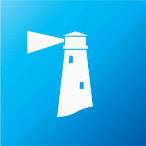 lighthouse icon rgb