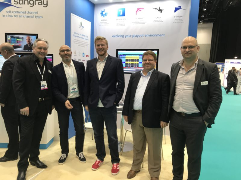 MBC and Pebble Beach Systems at CABSAT 2018